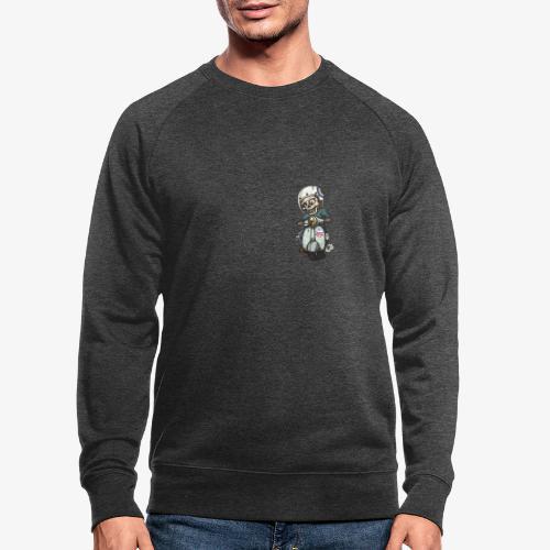 Skullterist - Solo Big Print - Männer Bio-Sweatshirt