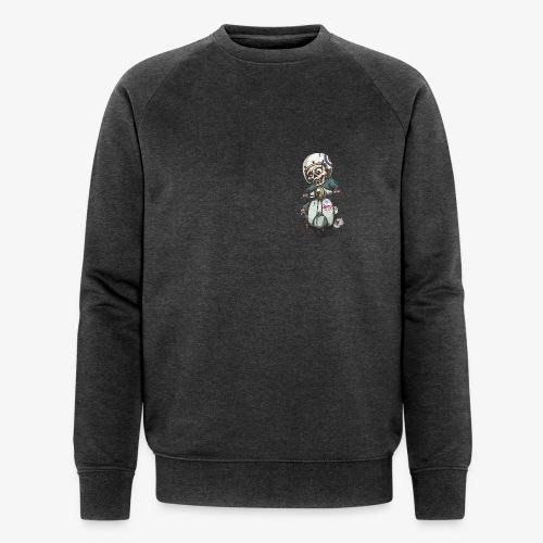 Skullterist - Solo Big Print - Männer Bio-Sweatshirt von Stanley & Stella