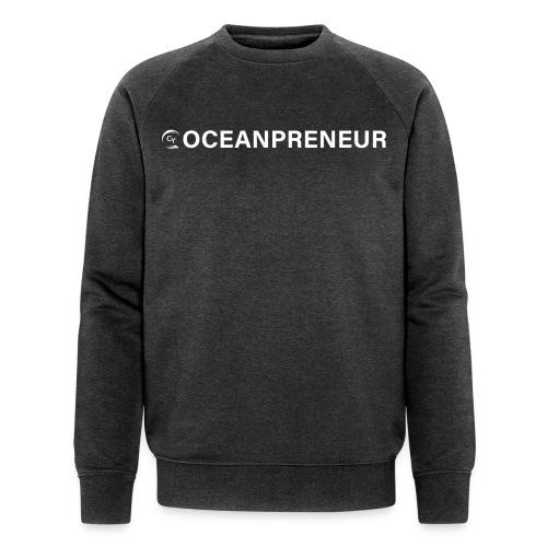 oceanpreneuer white - Männer Bio-Sweatshirt von Stanley & Stella
