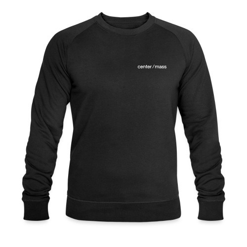 center ⁄ mass - Men's Organic Sweatshirt