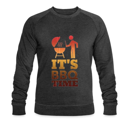 It's BBQ Time - Mannen bio sweatshirt