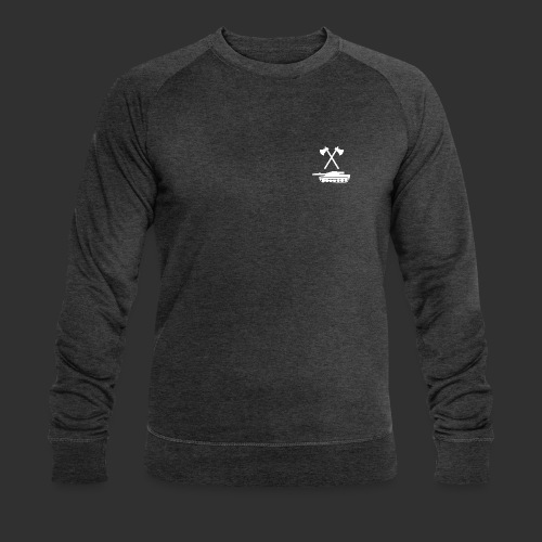 Pz Sap Weiss - Männer Bio-Sweatshirt