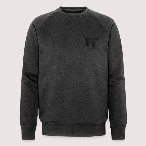 Bär Schwarz - Männer Bio-Sweatshirt von Stanley & Stella