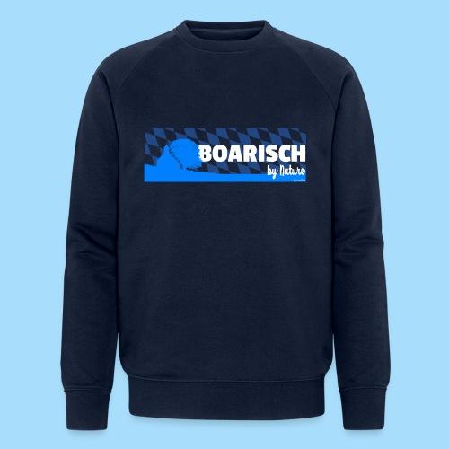 Boarisch By Nature - Männer Bio-Sweatshirt