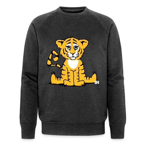 Tiger cub - Men's Organic Sweatshirt by Stanley & Stella