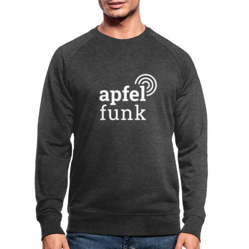 Apfelfunk Dark Edition - Männer Bio-Sweatshirt
