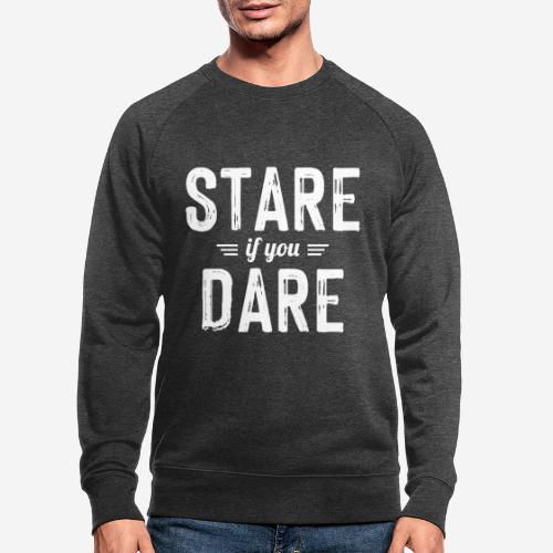 stare wagen - Männer Bio-Sweatshirt