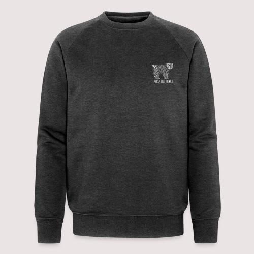 Bär Weiss - Männer Bio-Sweatshirt