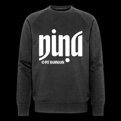 Ambigramm Nina 01 Pit Hammann - Männer Bio-Sweatshirt von Stanley & Stella