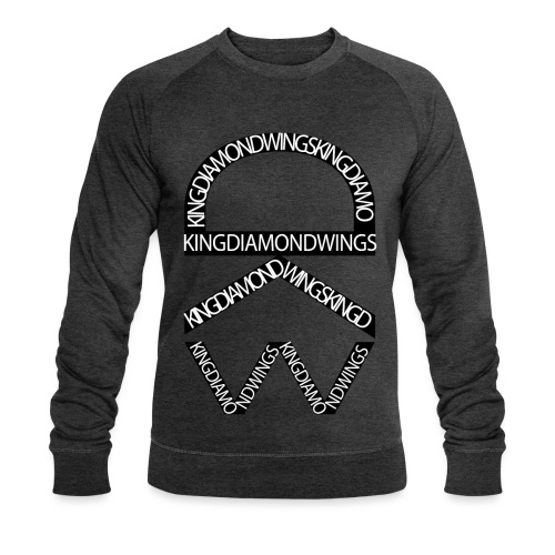King Diamond Wings Logo - Men's Organic Sweatshirt