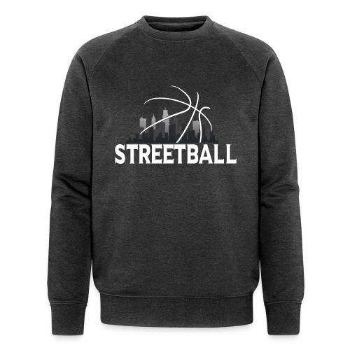 Streetball Skyline - Street basketball - Men's Organic Sweatshirt
