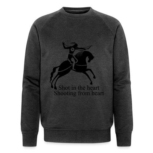 Shot in the Heart - Men's Organic Sweatshirt