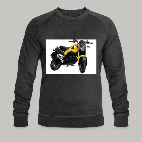 Grom Motorcycle (Monkey Bike) - Men's Organic Sweatshirt by Stanley & Stella