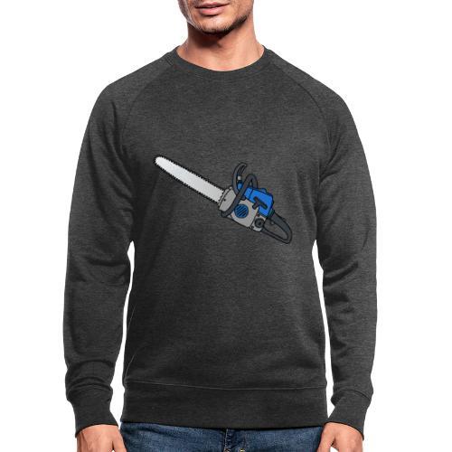 Kettensäge - Männer Bio-Sweatshirt