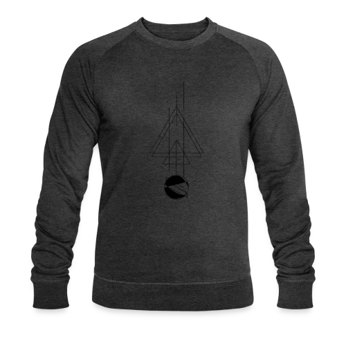Triangels and Space - Männer Bio-Sweatshirt von Stanley & Stella