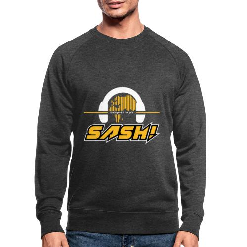 Sash! Logo 2020 Headfone - Men's Organic Sweatshirt