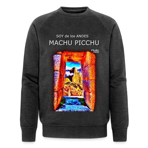 SOY de los ANDES - Machu Picchu I - Sweat-shirt bio Stanley & Stella Homme