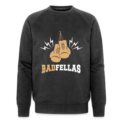 badfella_boxing_retro_003 - Miesten luomucollegepaita