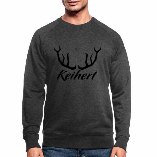 Keihert gaan - Mannen bio sweatshirt