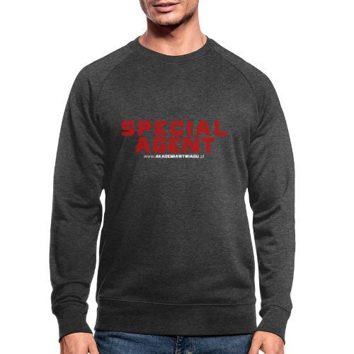 Emblemat Special Agent marki Akademia Wywiadu™ - Ekologiczna bluza męska