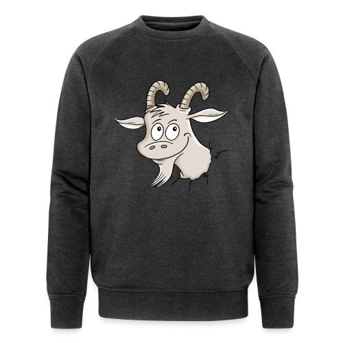 Steinbock - Männer Bio-Sweatshirt