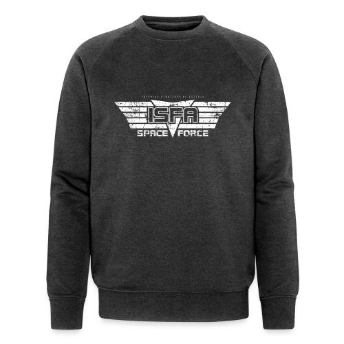 ISFA Spaceforce White grunge - Männer Bio-Sweatshirt von Stanley & Stella