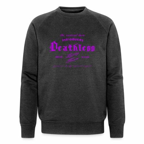 deathless living team violet - Männer Bio-Sweatshirt von Stanley & Stella
