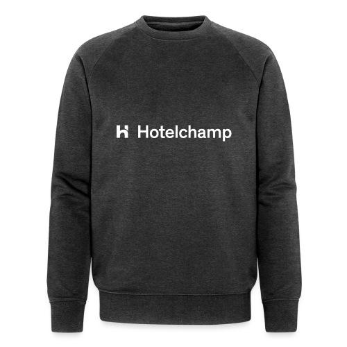HOTELCHAMP WHITE - Mannen bio sweatshirt