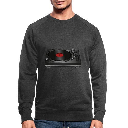 Plattenspieler VINYL - Männer Bio-Sweatshirt