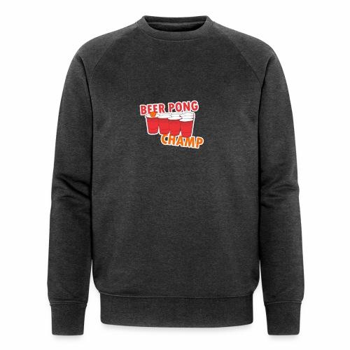 Beer Pong Champion - Männer Bio-Sweatshirt von Stanley & Stella