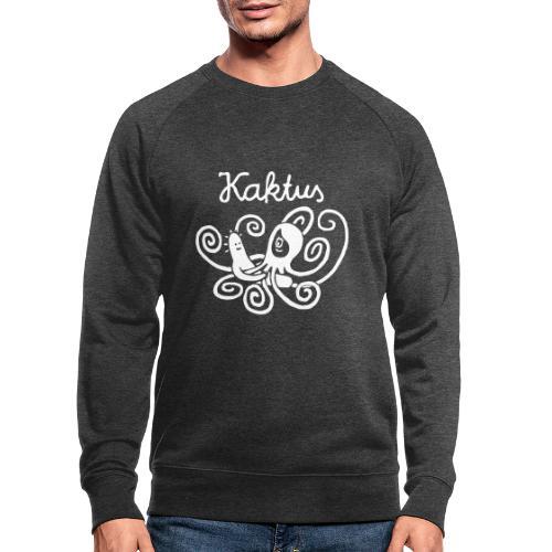 Kaktus und Kalamarie - Männer Bio-Sweatshirt
