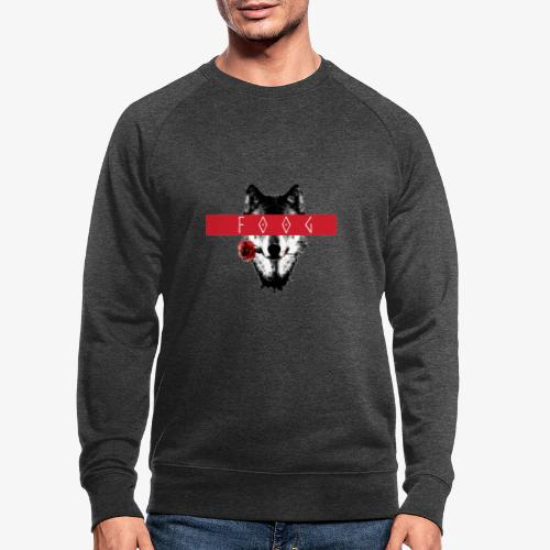 Wolf and Rose F00G - Sudadera ecológica hombre