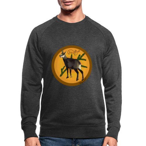 Die Gemse - Männer Bio-Sweatshirt