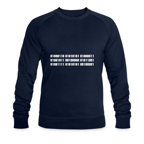 Fuck you binary code - Men's Organic Sweatshirt by Stanley & Stella