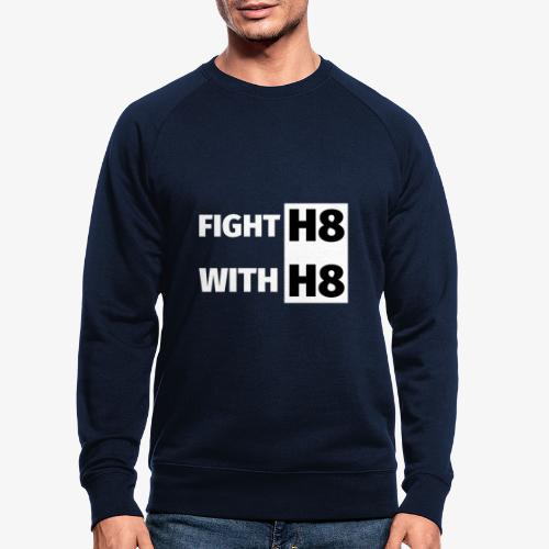 FIGHTH8 bright - Men's Organic Sweatshirt