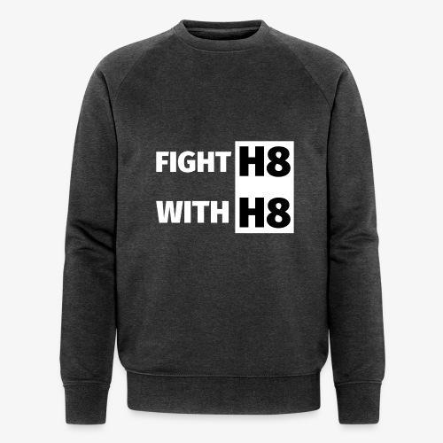 FIGHTH8 bright - Men's Organic Sweatshirt by Stanley & Stella