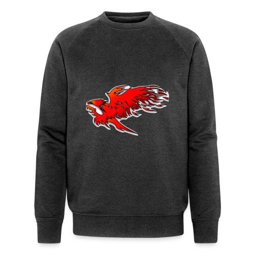 feueradler - Männer Bio-Sweatshirt