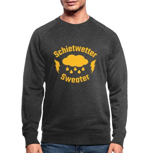 Schietwetter Sweater - Männer Bio-Sweatshirt