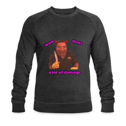 Phil Swift Damage - Men's Organic Sweatshirt