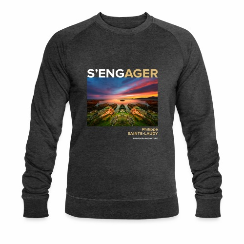 1 Achat = 1 Don à l'association Coeur de forêt - Sweat-shirt bio