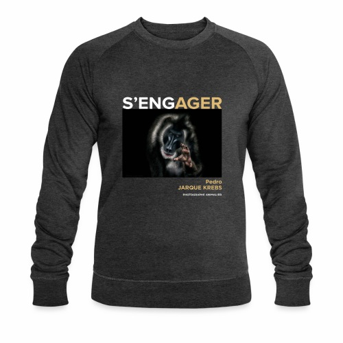 1 Achat = 1 Don à l'association Rainfer - Sweat-shirt bio Stanley & Stella Homme