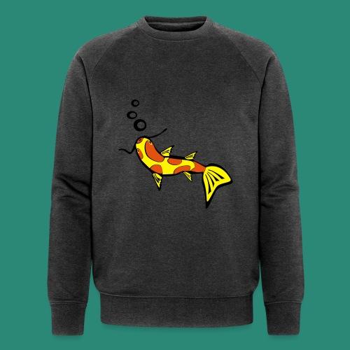 Einfach Fisch svg - Männer Bio-Sweatshirt von Stanley & Stella