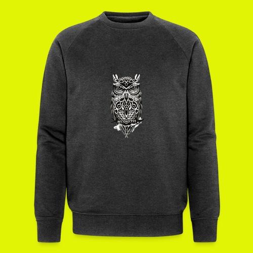 maglietta gufo - Felpa ecologica da uomo di Stanley & Stella