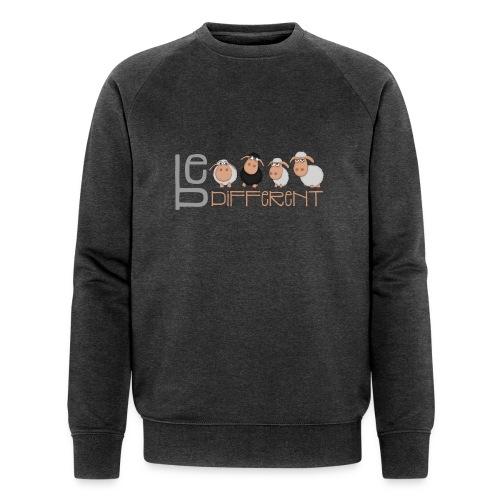 Kleine Be different Schafe - Einzigartig & anders - Männer Bio-Sweatshirt von Stanley & Stella