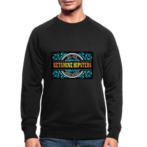 Black Vintage - KETAMINE HIPSTERS Apparel - Men's Organic Sweatshirt