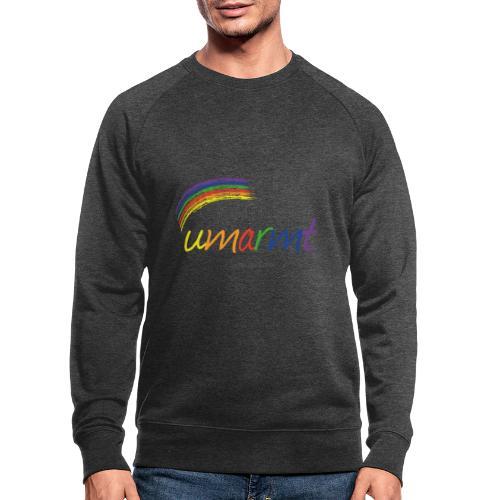 Liebliche Kollektion: Fühl dich Umarmung! - Männer Bio-Sweatshirt