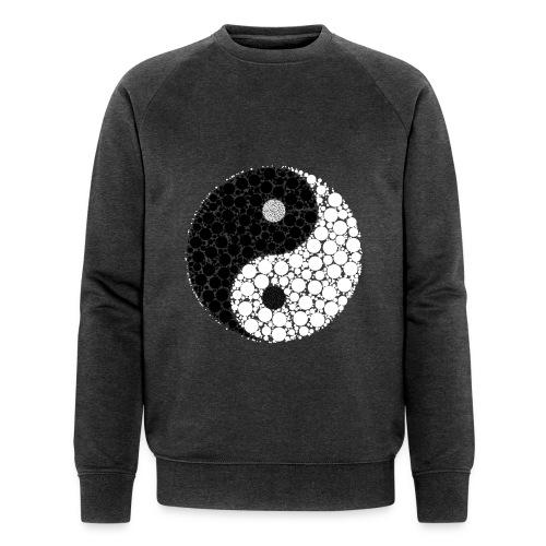 Yin/yang - Männer Bio-Sweatshirt