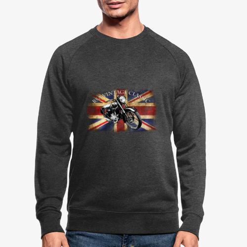 Vintage famous Brittish BSA motorcycle icon - Men's Organic Sweatshirt