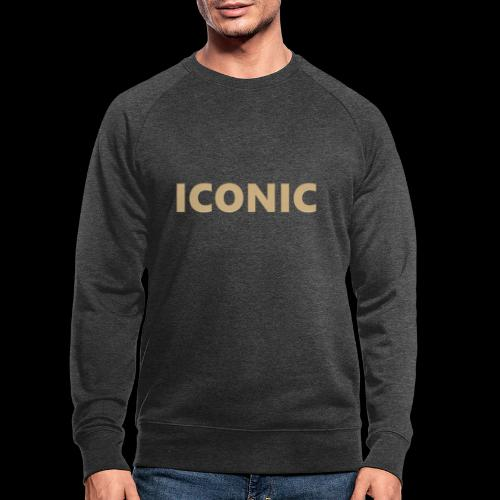 ICONIC [Cyber Glam Collection] - Men's Organic Sweatshirt by Stanley & Stella