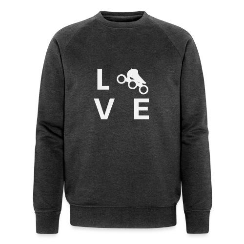 Speedskating Liebe - Männer Bio-Sweatshirt von Stanley & Stella